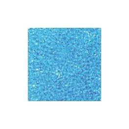 Rocailles 2,6mm transparent azurblau