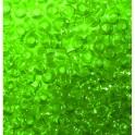 Rocailles 2,6mm transparent mittelgrün