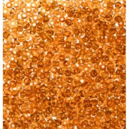 Rocailles 2,6mm transparent topas