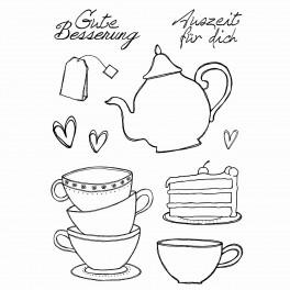 "Stempelset ""Kaffee und Tee"""
