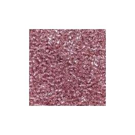 Rocailles 3,5mm transparent flieder