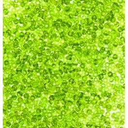 Rocailles 3,5mm transparent hellgrün