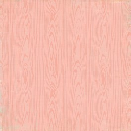 Designpapier Hello Baby Pink Wood / Hearts