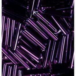 Stiftperlen Silbereinzug lila