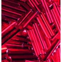 Stiftperlen Silbereinzug rot