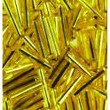 Stiftperlen Silbereinzug gelb