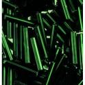 Stiftperlen Silbereinzug grün