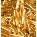 Stiftperlen Silbereinzug gold
