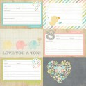 "Journaling Cards Des. 2 ""Hello Baby"""