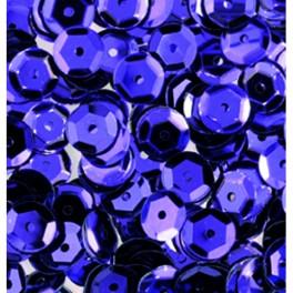 Pailletten rund gewölbt, lila