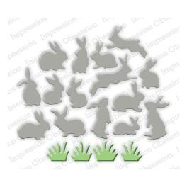 """Schneideschablone """"Mini Bunnies"""""""