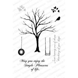 """Motivstempel """"Solid Tree"""" CLEAR"""