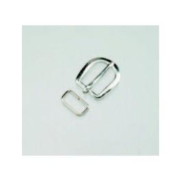 Gürtelschließe, oval, 15mm