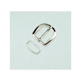Gürtelschließe, oval, 20mm