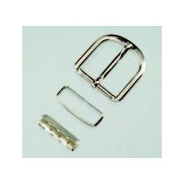 Gürtelschließe, oval, 30mm