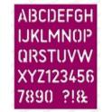 """Schneideschablone """"Stencil Alphabet"""""""