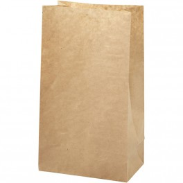 Papiertüte/ Paperbag braun groß