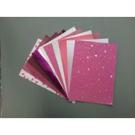 Überraschungsset A4 rosa/pink