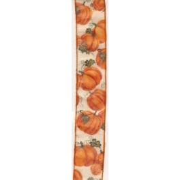 Kürbisband, 50mm breit