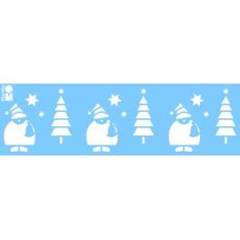 """Schablone """"Forest Santa"""""""