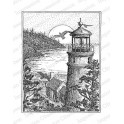 "Motivstempel ""Lighthouse View"""