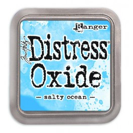 "Tim Holtz Distress Oxide Ink Pad ""Salty Ocean"""
