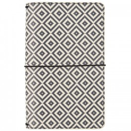 Aztec Black & White Traveler's Notebook